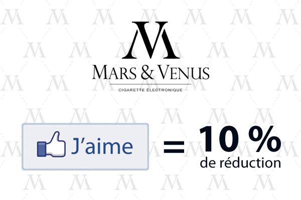 mars venus ecigarette fashion slim facebook like reduction