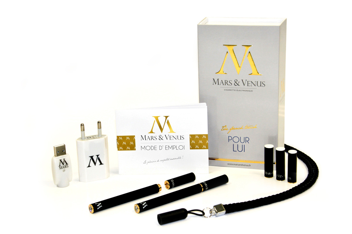 Mars-Venus fashion-slim-ecigarette pack-confort homme